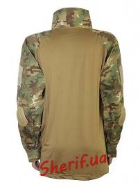 """Рубашка тактическая MIL TEC """"Warrior"""" Woodland-Arid-3"""