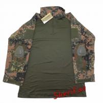 """Рубашка MIL-TEC тактическая """"Warrior"""" Flecktarn, 10513321-2"""