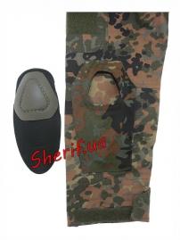 """Рубашка MIL-TEC тактическая """"Warrior"""" Flecktarn, 10513321-6"""