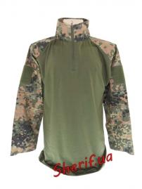 Рубашка MIL-TEC тактическая Warrior Flecktarn