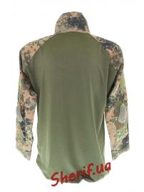 """Рубашка MIL-TEC тактическая """"Warrior"""" Flecktarn, 10513321-4"""