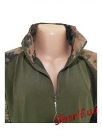 """Рубашка MIL-TEC тактическая """"Warrior"""" Flecktarn, 10513321-7"""