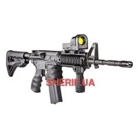 Пистолетная рукоятка прорезиненная (полимер) к М16-М4-AR15-2