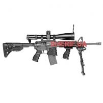 Пистолетная рукоятка прорезиненная (полимер) к М16-М4-AR15-3