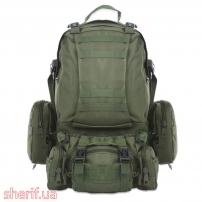 Рюкзак большой с подсумками Olive, 55 л