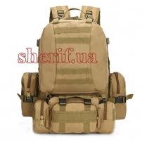 Рюкзак большой с подсумками Койот, 50 л