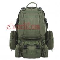 Рюкзак большой с подсумками Олива, 50 л