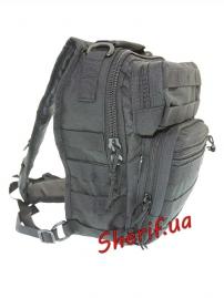 Рюкзак MIL-TEC через плечо Assault Black, 8.5л