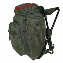 Рюкзак MIL-TEC с раскладным стульчиком Olive, 20 л