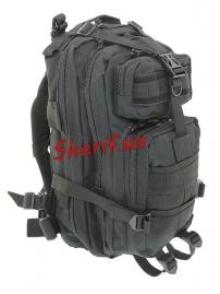 Рюкзак тактический 3D Pack Black, 15-20л