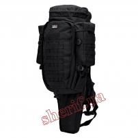 Рюкзак военный тактический 9.11 с отделением под карабин Black