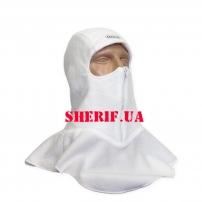 Шлем-маска Охотник двухслойная белая