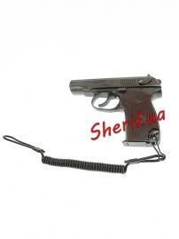 Шнур пистолетный страховочный спиральный Black, 16182502