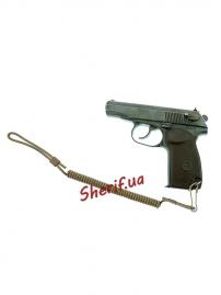 Шнур MIL-TEC пистолетный страховочный спиральный Coyote, 16182505