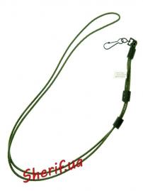 Шнур страховочный MIL-TEC Pro Olive, 16182001