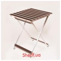 Стол раскладной «ALUWOOD» малый, 50х53 см