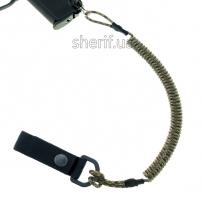 Страховочный шнур с карабином и креплением на пояс Камуфляж