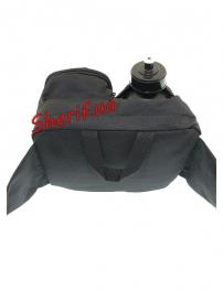 Сумка MIL-TEC поясная с флягой Black-6