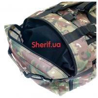 Военная сумка-рюкзак Multicam транспортировочная, 85л-6