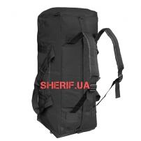 Сумка-рюкзак MIL-TEC военная Black, 70л-2
