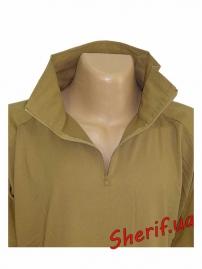 Тактическая полевая рубашка MIL-TEC Coyote-4