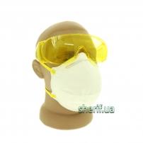 Защитные очки поликарбонат Озон (Yellow)
