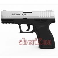 Y700290C Пистолет стартовый  Retay XR кал. 9 мм. Цвет - chrome.