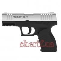 Y700290N Пистолет стартовый  Retay XR кал. 9 мм. Цвет - nickel.
