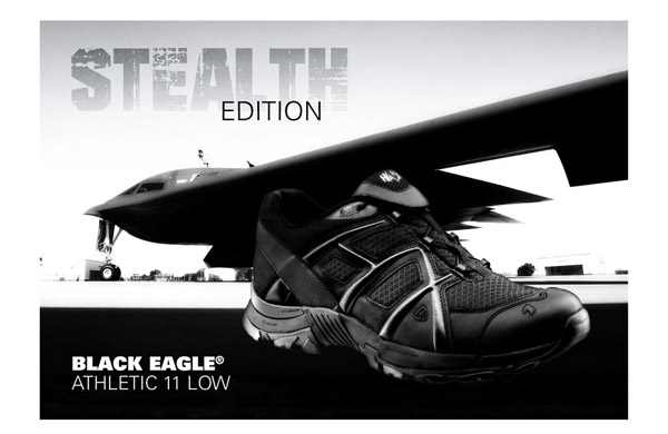300004 HAIX BLACK EAGLE ATHLETIC 11 Low Black 2